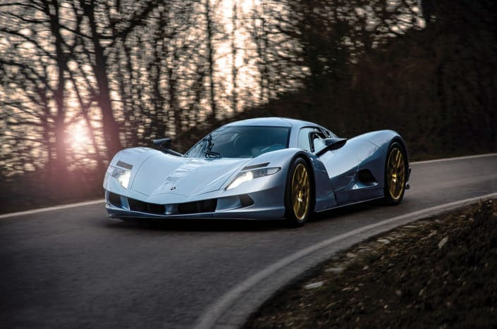 The first Japanese full-electric hypercar